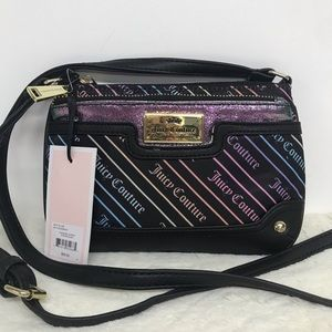 Juicy Couture Crossbody Purse Wallet Rainbow NWT